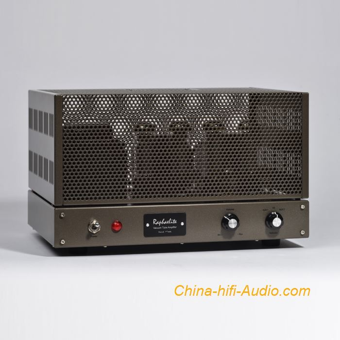 Raphaelite DP34 EL34x4 integrated amplifier HiFi audio stereo tube amp push-pull