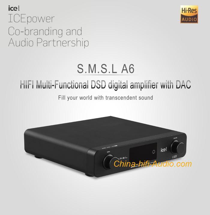 SMSL AUDIO DAC& Headphone amplifier : China HiFi Audio Online Store