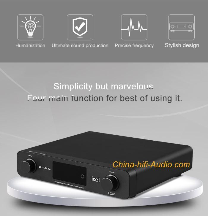SMSL A6 hifi audio Digital Amplifier DAC Digital To Analog Converter