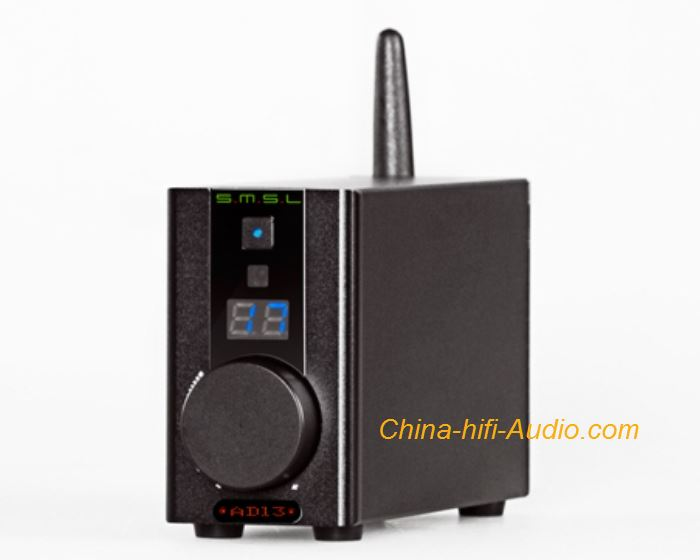 SMSL AD13 Digital Power Amplifier HIFI USB Decoding Bluetooth Remote Control