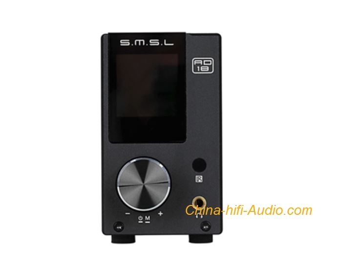 SMSL AD18 DSP Full Digital Amplifier Optical Fiber USB Coaxial Bluetooth Inputs