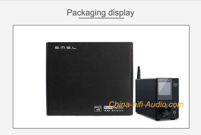 SMSL AD18 DSP Full Digital Amplifier Optical Fiber USB