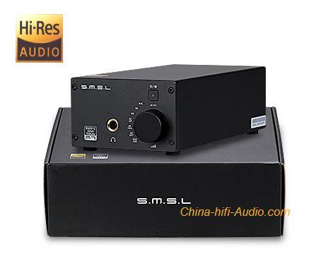 SMSL M7 2xAK4452 32Bit/768KHz DSD512 Hifi Audio USB DAC + Headphone Amplifier - Click Image to Close
