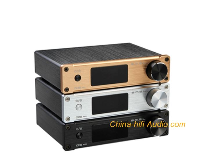 SMSL Q5 PRO Pure Digital Power Amplifier HiFi Audio USB Fiber Coaxial AUX Bass