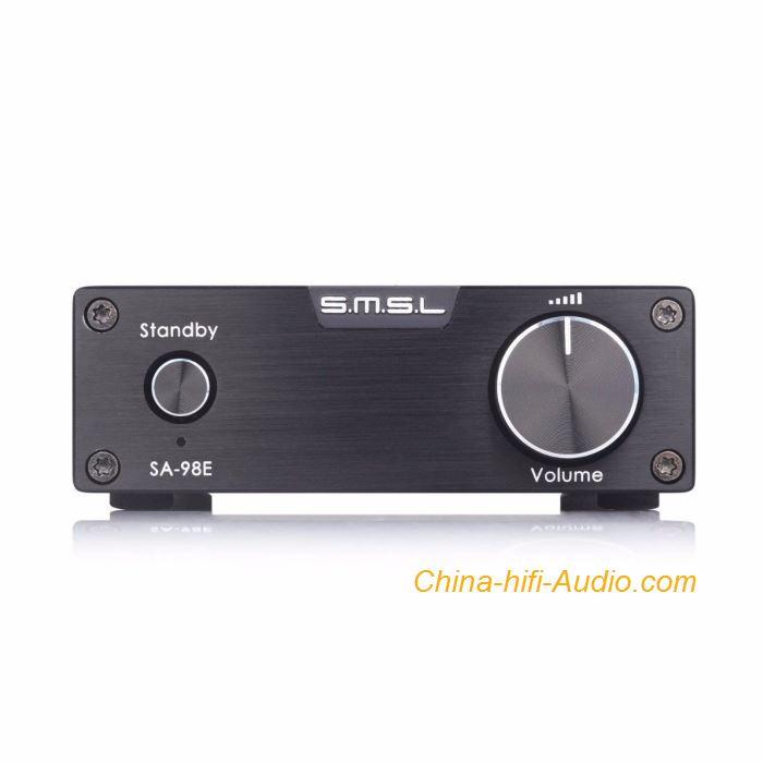 SMSL SA-98E Amplifier TDA7498E HIFI Stereo Digital Big Power With Power Adapter