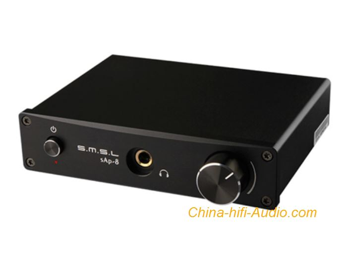 SMSL SAP-8 hifi audio headphone amplifier Desktop Class A XLR And RCA Input