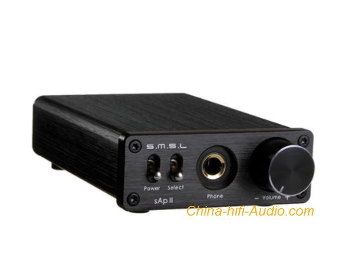 SMSL SAP II hifi audio headphone amplifier Stereo with Big Power TPA6120A2