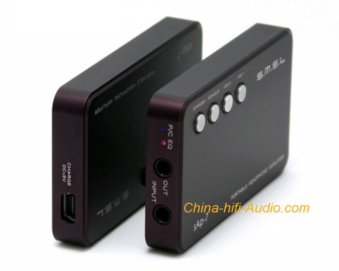 SMSL Sap-7 headphone amplifier high performance portable CE FCC Certified