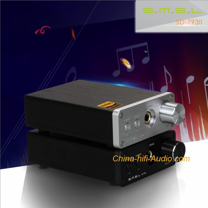 SMSL SD-793II hifi audio DAC Built-in stereo headphone amplifier 24BIT96KHZ