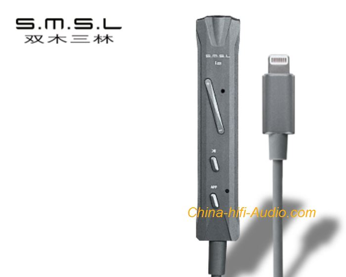 SMSL i2 portable Lightning DAC 3.5 Apple Phone Decoder Built-in Microphone