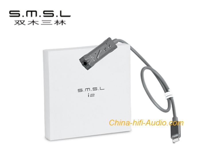 SMSL i2 mini portable DAC and and headphone amplifier for