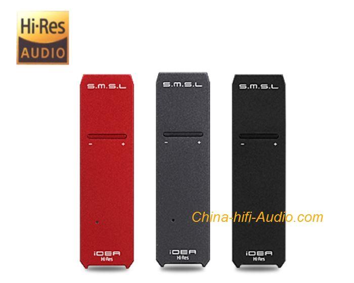 SMSL iDEA HiFi DAC Audio Portable USB DSD512 32bit 768kHz Headphone Amplifier