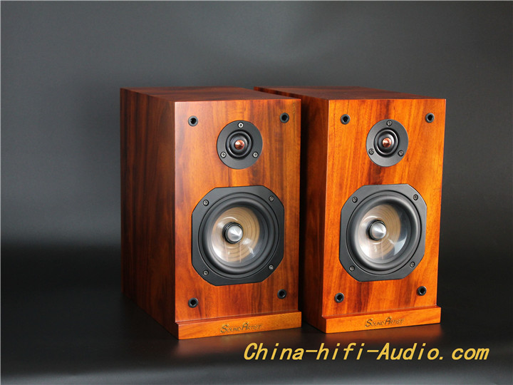 SoundArtist S5B HiFi Speaker Bookshelf Speaker 5 Inch Loudspeakers A Pair