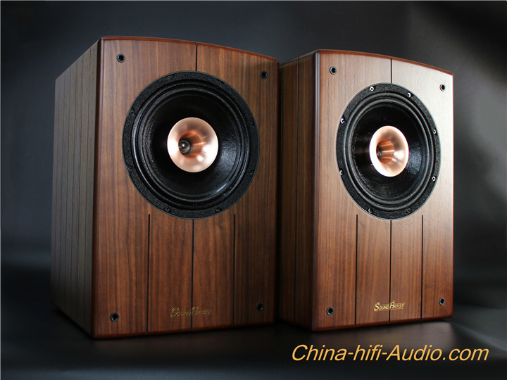 SoundArtist SC8B 8 inch Coaxial speaker HiFi Bookshelf Loudspeakers Pair