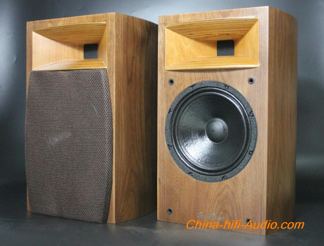 SoundArtist SH8B 8 inch Horn Speaker Audiophile Bookshelf Loudspeaker A pair