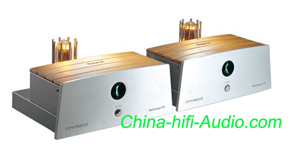 Opera Reference 9.9 Dual Mono-Block power amplifier Consonance tube 845 amp