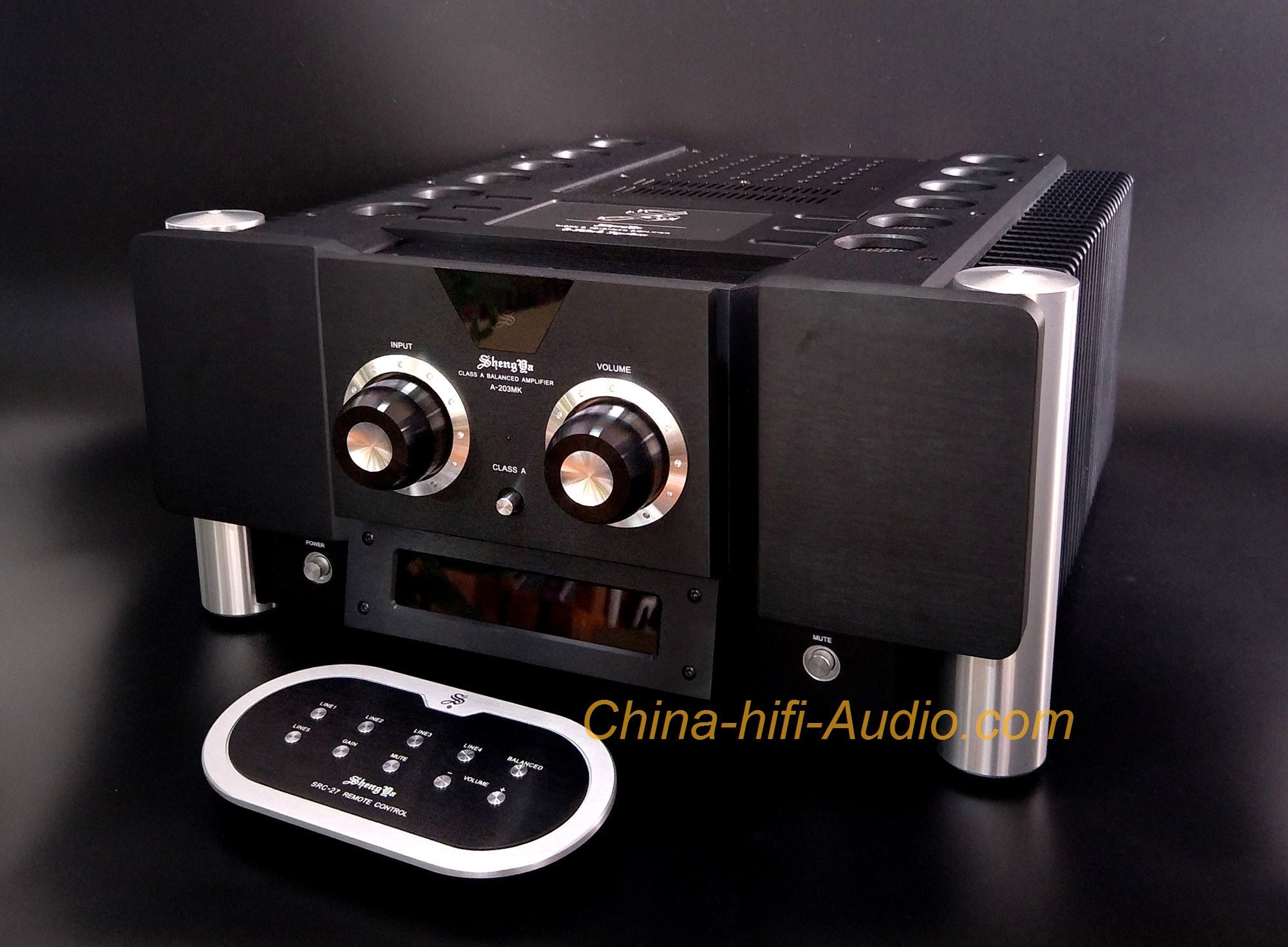 ShengYa A-203mk Signature Pure Class A transistor Integrated Amplifier Hi-END