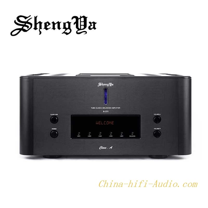ShengYa A-211 Class A Integrated Amplifier Transistor Tube HYBRID Hi-end 100W