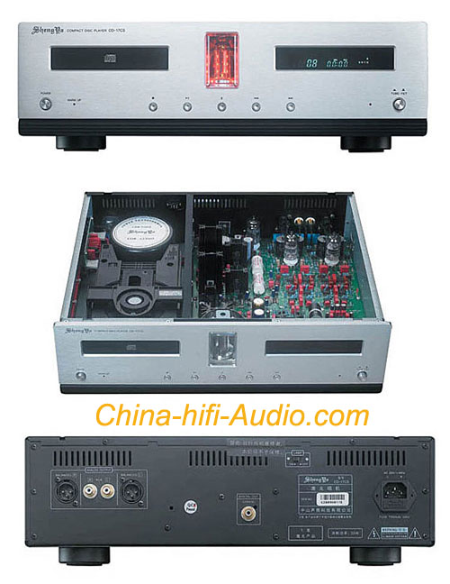 Shengya CD-17CS Vacuum Tube hi-fi CD PLAYER can read HDCD