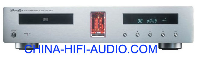 Shengya CD-18CS Vacuum Tube HiFi CD Player silver