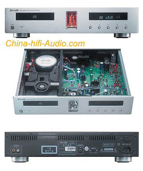Shengya CD-18CSII Vacuum Tube Hi-Fi CD Player 24Bit/192kHz 2014