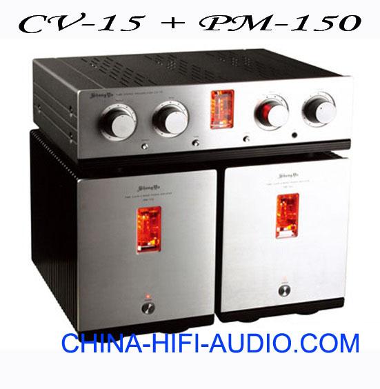 Shengya CV-15 Preamp + PM-150 Mono Power Amplifiers tube amp