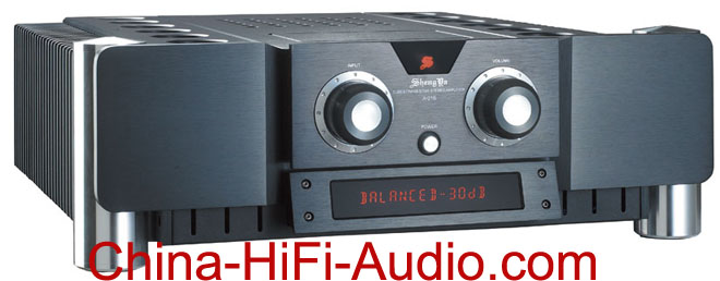 Shengya A-216 Hybrid full balance Integrated Amplifier black