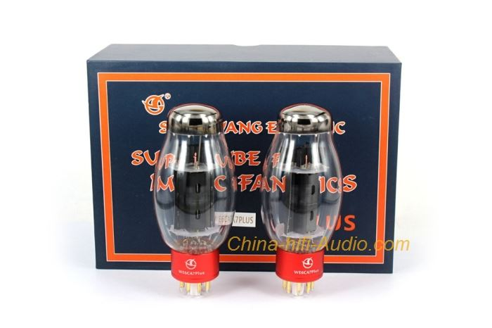 Quad(4) Shuguang WE6CA7 PLUS Vacuum Tube Replace 6CA7 EL34 Valve Best Matched
