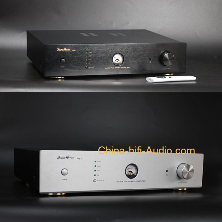 SoundArtist PRE-1 pre-amp Vacuum Tube HiFi Preamplifier with Remote