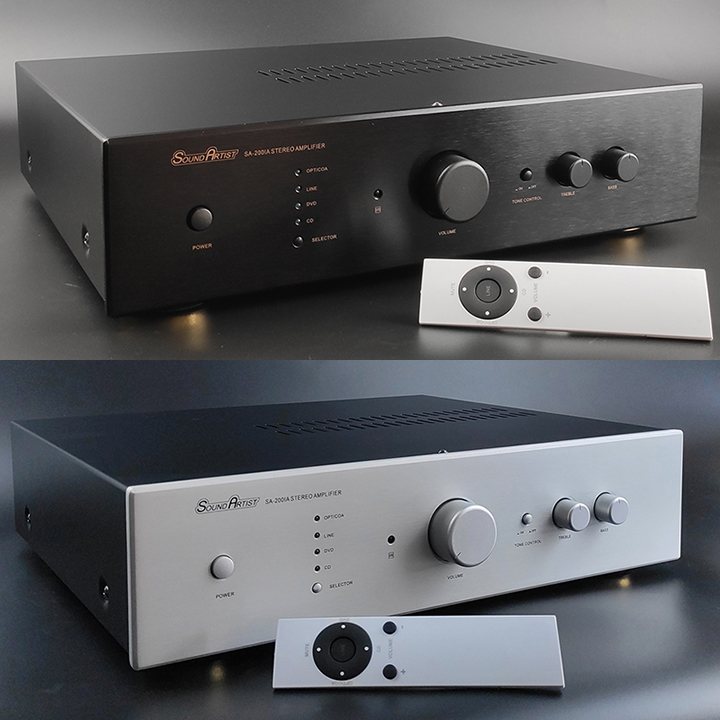 SoundArtist SA-200IA stereo integrated amplifier 200W+200W powerful with preamp