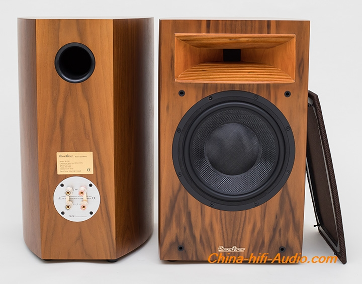 SoundArtist SH10B horn hi-fi speaker audiophile Bookshelf Loudspeakers A pair