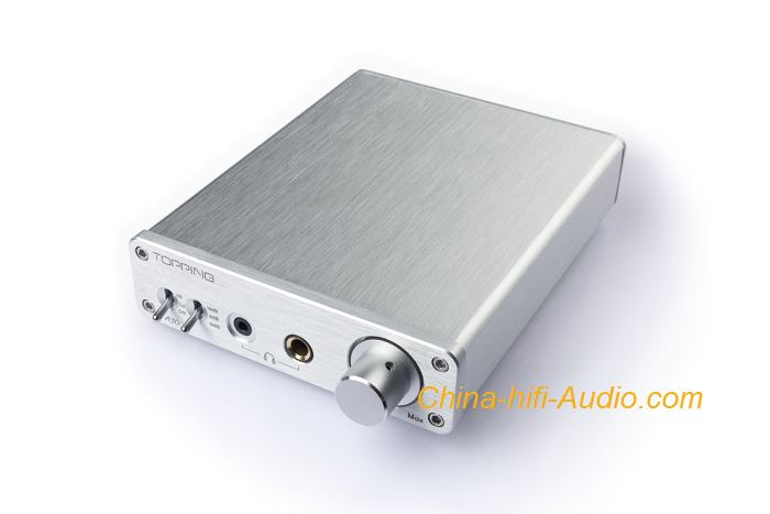 Topping A30 hifi audio Desktop Headphone Amplifier with TPA6120 Chip Amp Fever