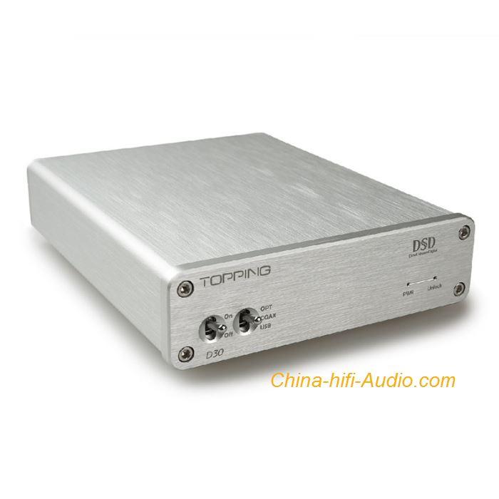 Topping D30 hifi DAC Decoder asynchronous USB Coaxial Fibre DSD XMOS CS4398