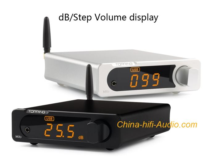 TOPPING MX3 Digital Amplifier Multifunctional Bluetooth with USB Coaxial Fiber