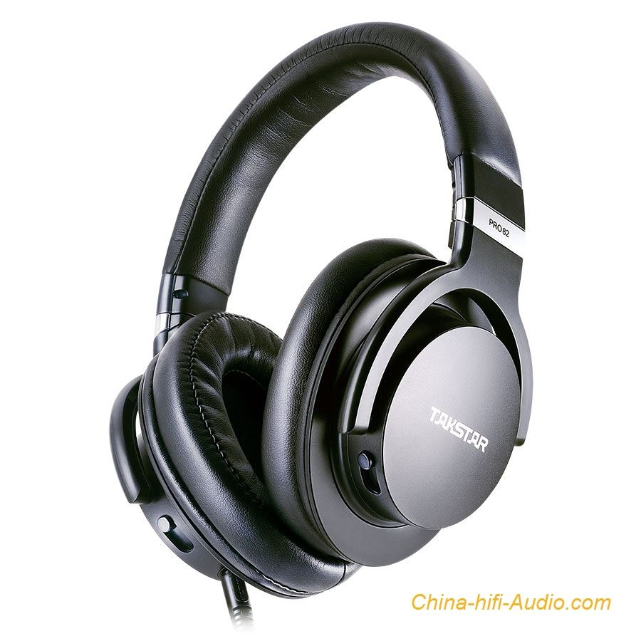Takstar PRO82 Professional Monitor headphones Music production Subwoofer headset