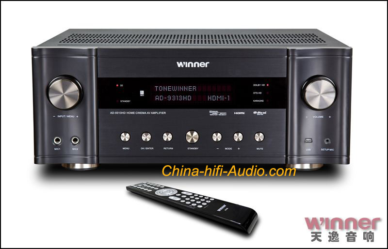 Tone Winner AD-9313HD 7.1CH AV amplifier Home Theater HDMI TV 3D