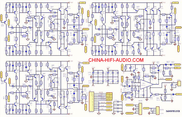 Tone Winner AD-9600SE hifi & AV 5.1 home theater amplifier : China ...