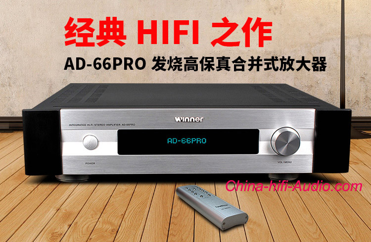 ToneWinner AD-66PRO HIFI Integrated amplifier power amp link SUB