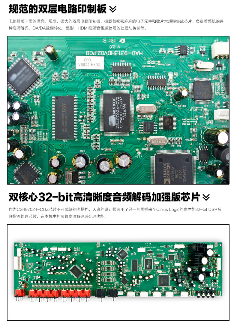 ToneWinner AD-9313EHD 5.1CH AV amplifier Home Cinema HDMI TV KTV ...