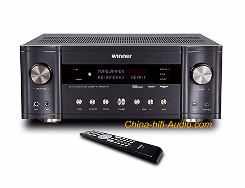 ToneWinner AD-9313EHD 5.1CH AV amplifier Home Cinema HDMI TV KTV