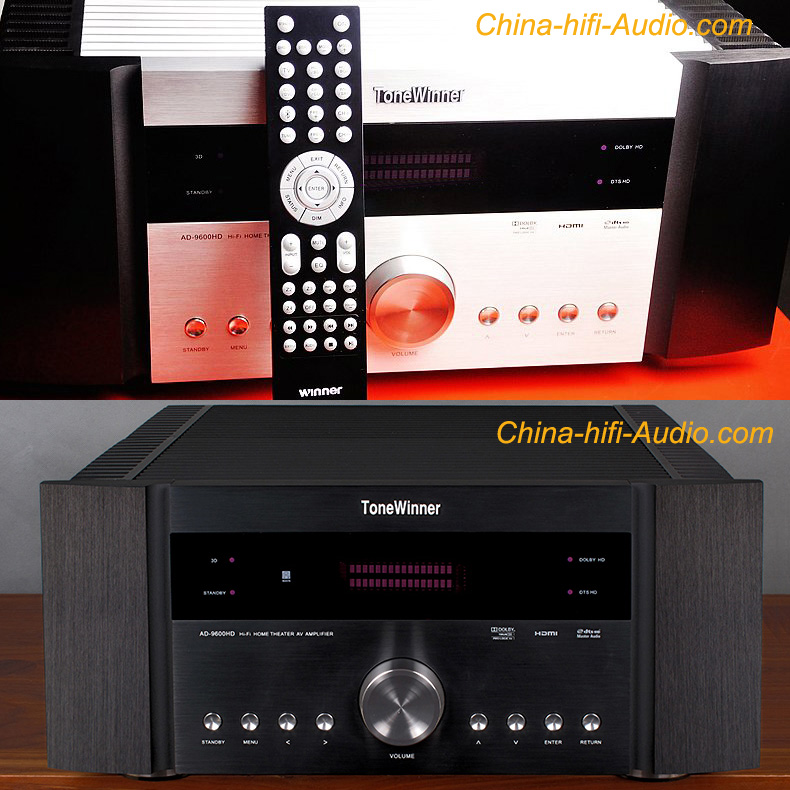 Tone Winner AD-9600HD 5.1 AV HiFi amplifier Home Theater hi-end