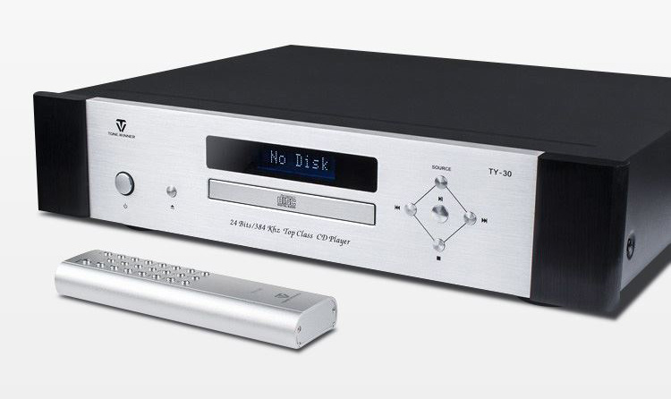 ToneWinner TY-30 hi-fi CD Player HDCD Balanced XLR Music disc decoder 24bit/384K