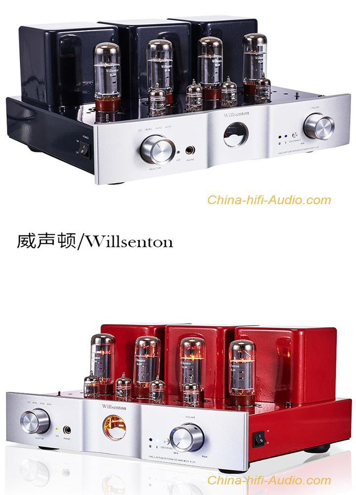 Willsenton R-35i EL34 x4 Tube Amplifier hifi Headphone Amp with Bluetooth