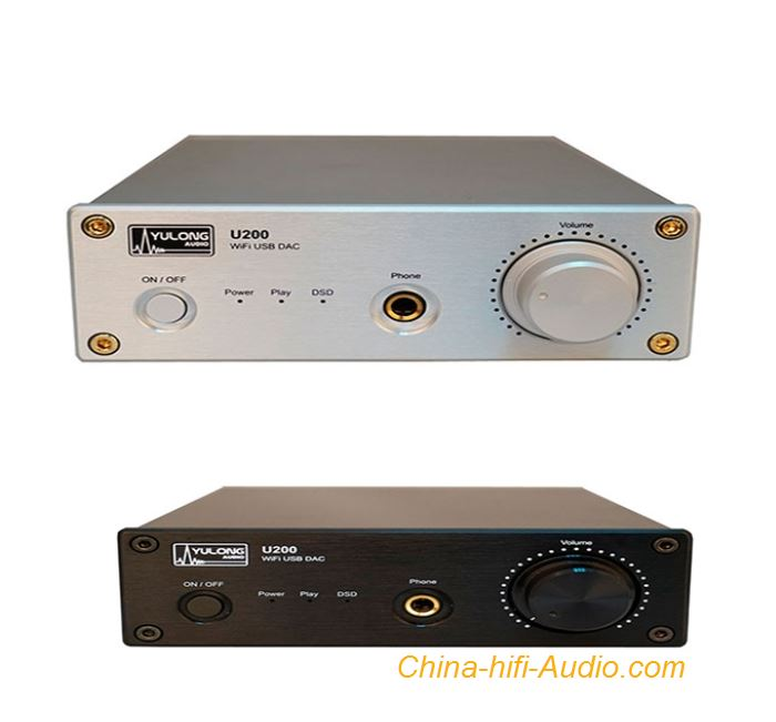YULONG U200 DAC Digital To Analogue Decoder portable Class A Headphone Amplifier