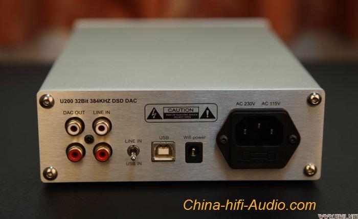 YULONG U200 WiFi USB DAC DSD 32bit 384KHz Digital To
