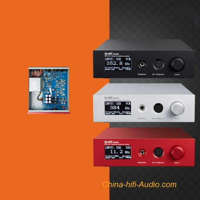 Yulong DAART Aquila Full Balanced Headphone Amplifier HIFI DAC DSD Audio Decode