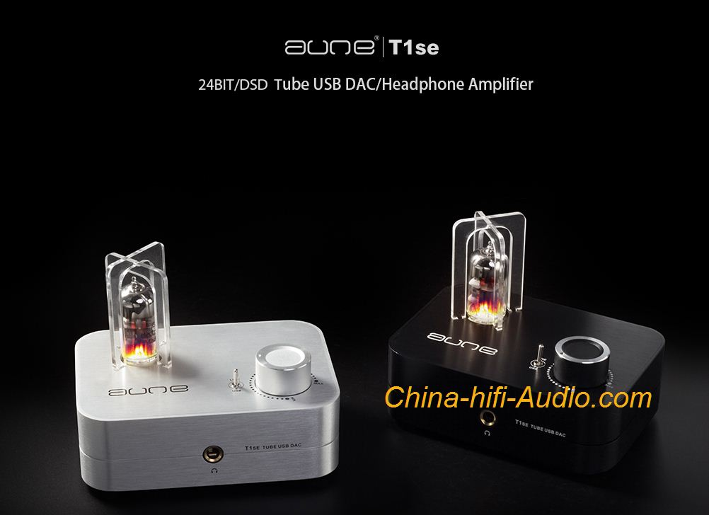Aune T1 se XMOS USB DAC Headphone Tube Amplifier 24BIT/192K DSD otg Android