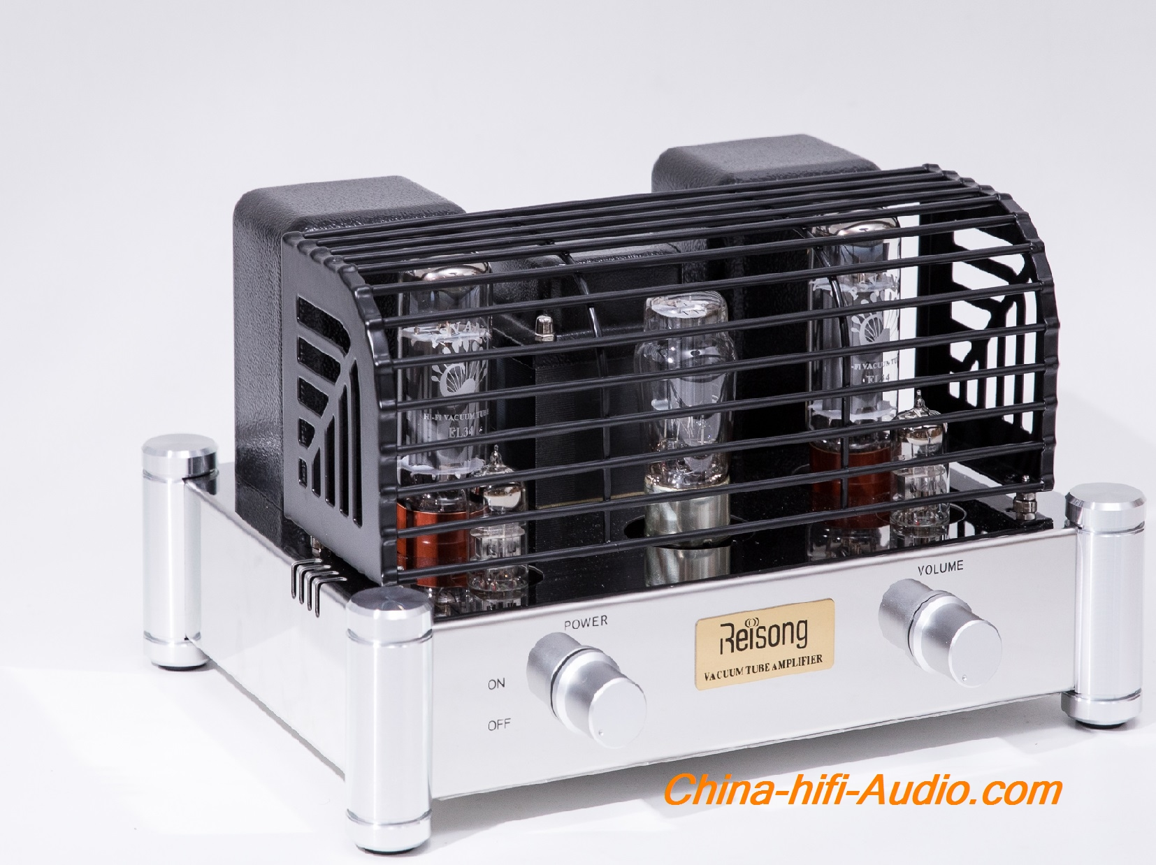 Reisong A12 12AX7(ECC83) EL34 Tube Integrated Amplifier single-ended Class A Boy