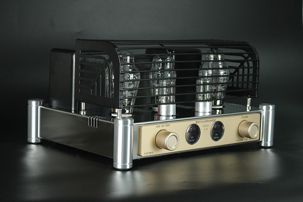 Open Box BoyuuRange A50 MKIII 300B Single-end Class A Tube Intergrated Amplifier