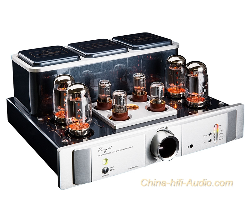 Cayin A-88T MK2 tube EL34/KT88/6550 Integrated amplifier ...